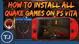 PS Vita How To Install Quake I/II/III (Homebrew Ports)