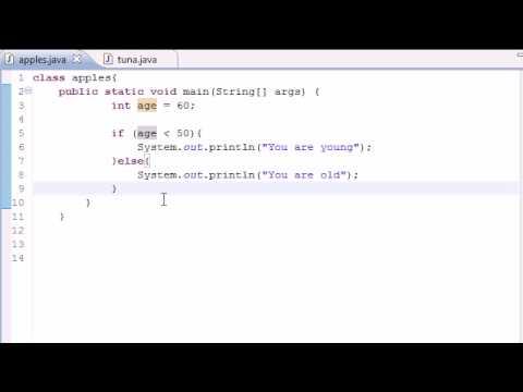 Java Programming Tutorial - 18 - Nested if Statements