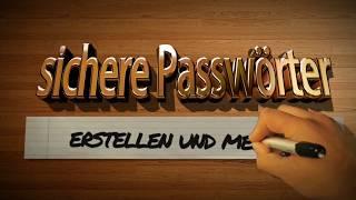 Passwörter erstellen und merken
