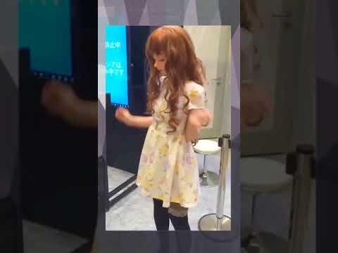 Japan AI Advanced Human Like Girl Robot Demonstration 480p