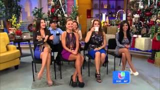 Repeat youtube video Ana Patricia Gonzalez & Ximena Cordoba hot bodies, legs & high heels (12-30-13)