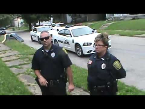 07-07-2016 PART (2.) New Castle Indiana Police ! If This Is How Do They Their Job !! ?? WTF !