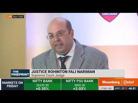Justice Rohinton Fali Nariman On Future Of Legal Education In India #BQ