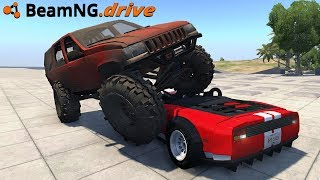 BeamNG.drive - MONSTER JEEP