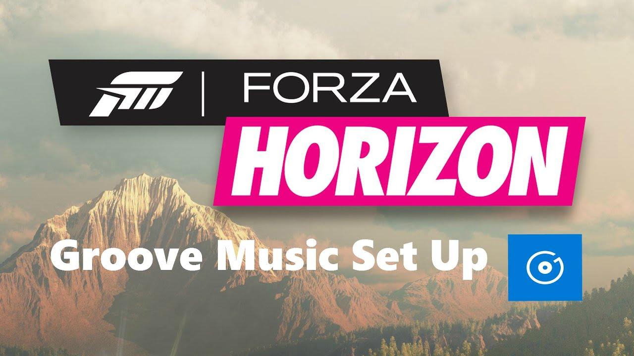 How To Set Up Groove Music Radio - Forza Horizon 3
