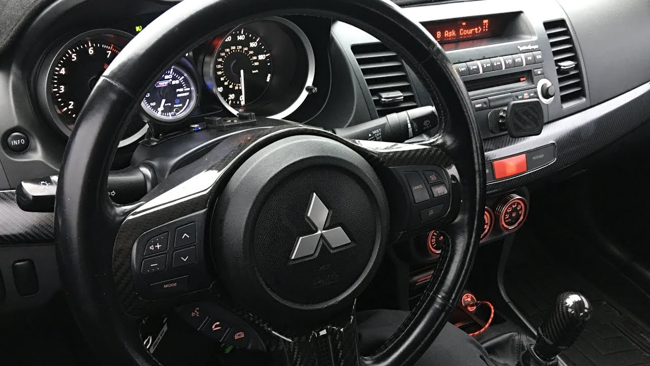 Ep 042 Rexpeed Carbon Fiber Steering Wheel Trim Cz4a