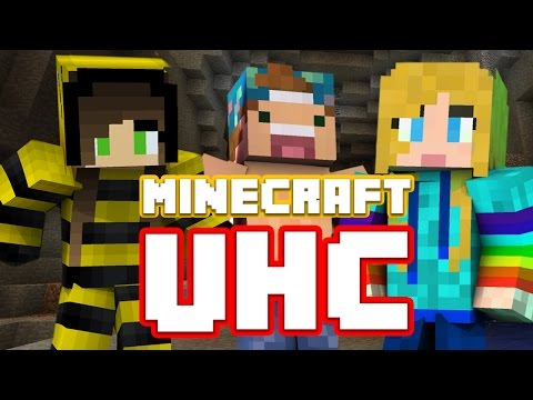 FIRST BLOOD! ft Bee and Joey!| UHC EP 3 | Strawburry17Plays
