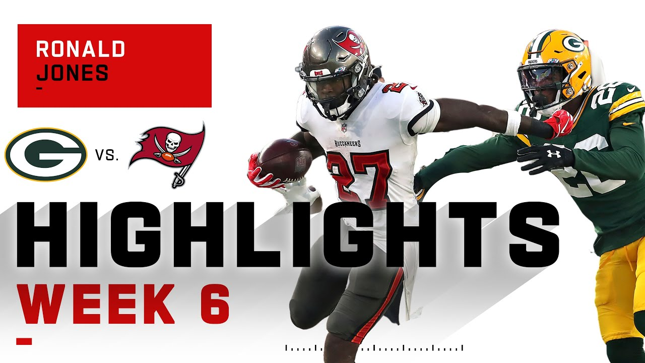 Ronald Jones Brushes Packers Out Of The Way W 113 Yds 2 Tds Nfl 2020 Highlights Youtube