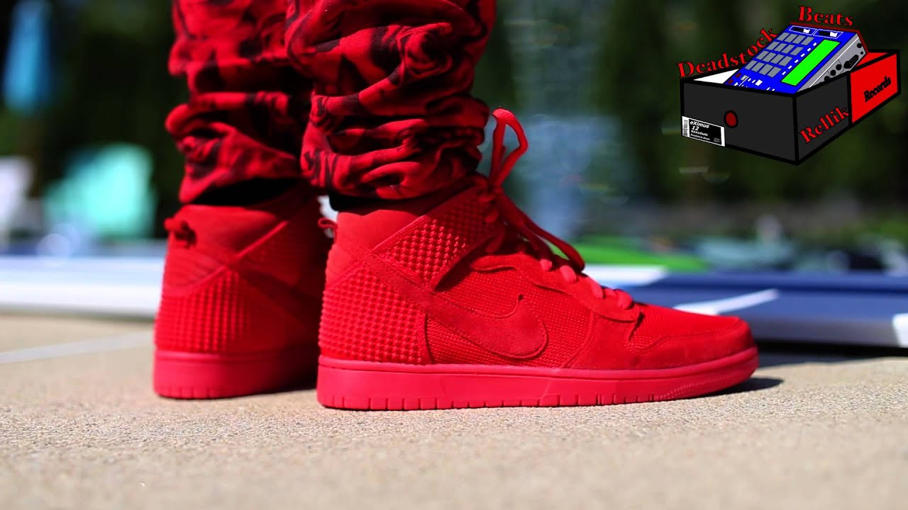 separation shoes 22c11 17bb5 NIKE DUNK CMFT RED OCTOBER + GLOW IN THE DARK