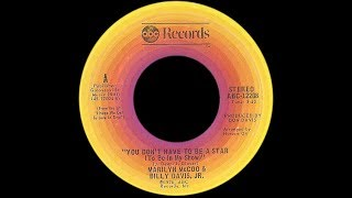 Marilyn McCoo & Billy Davis Jr ~ You Don't Have To Be A Star 1976 Disco Purrfection Version