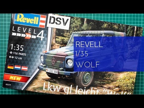 Revell 1/35 Lkw Gl Leicht Wolf (03277) Review