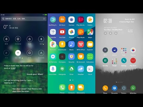Best Top 10 MiUi 8 themes 2017. (March) fully featured themes.