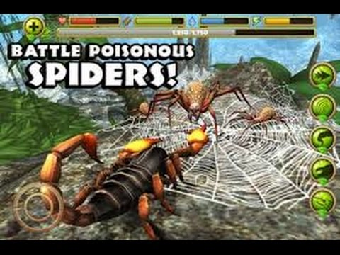 Scorpion Simulator - Part 2 - iPad, iPhone 4,  iPhone 5, iPhone 5c, iPhone 5s, iPhone 6