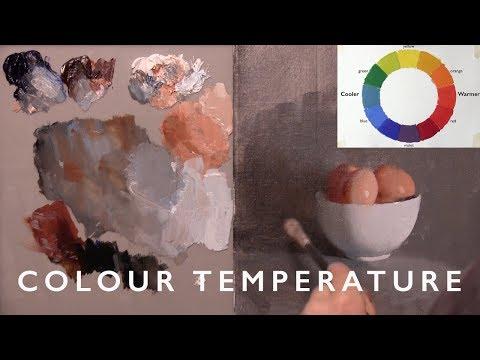 Oil Painting with Alex Tzavaras - Colour Essentials Part 1, COLOUR TEMPERATURE