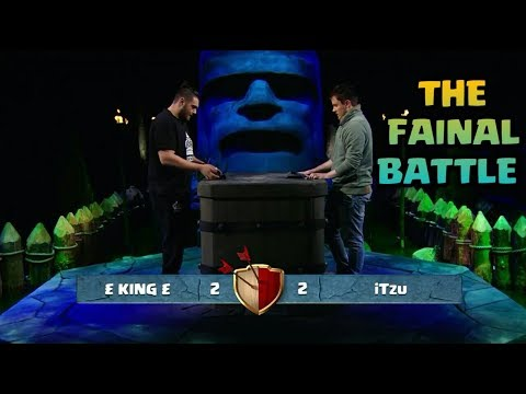 iTzu Vs £King£ -THE FINAL BATTLE| BUILDER HALL 7  TOURNAMENT OF CLASH OF CLANS