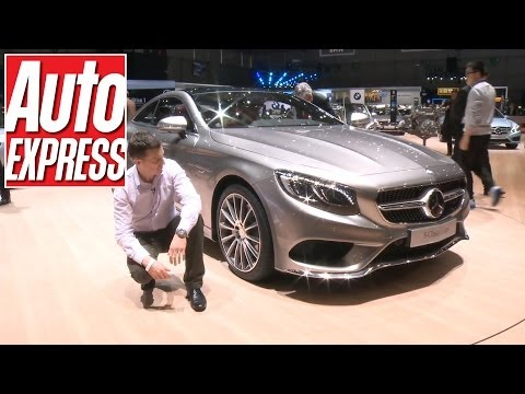 Mercedes S-Class Coupe at the Geneva Motor Show 2014