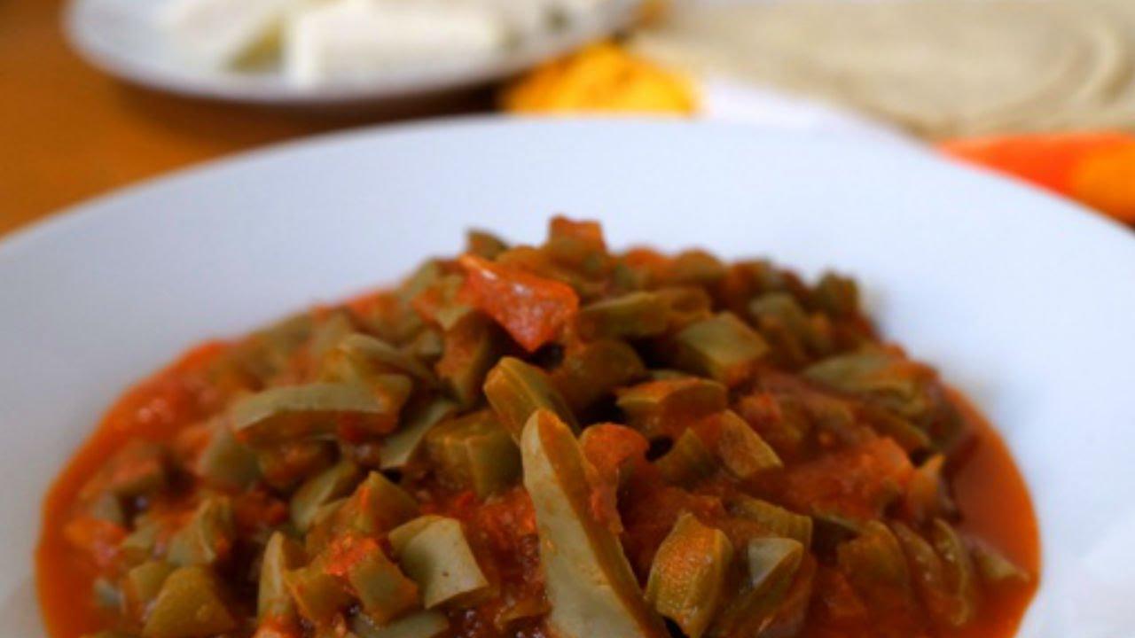 Cómo preparar nopales en salsa de chile chipotle YouTube