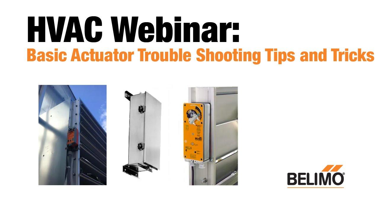 basic actuator trouble shooting tips tricks [ 1280 x 720 Pixel ]