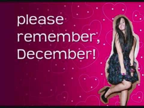 Demi Lovato - Remember December - Lyrics