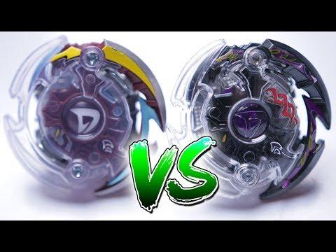 beyblade-burst-battle-|-dark-deathscyther-vs-doomscizor-d2---takara-tomy-vs-hasbro