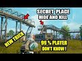 "PUBG MOBILE NEW SECRET PLACES TO HIDE AND KILL ! 99% PLAYER DON""T KNOW THIS TRICK !"