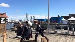 La Garde du Lys aux Fêtes de la Nouvelle France - 2015
