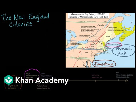 Society and religion in the New England colonies