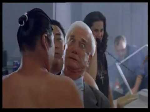 Leslie Nielsen sumo  from A Space Travesty Movie