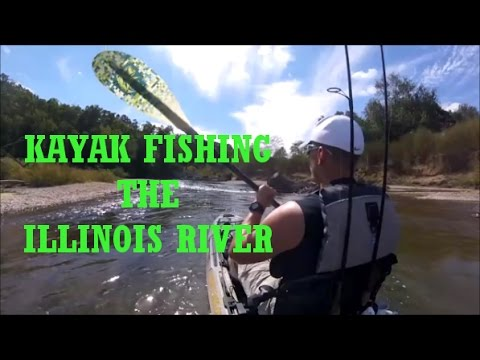 Kayak Fishing the Illinois River