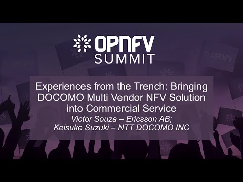Experiences from the Trench: Bringing DOCOMO Multi Vendor NFV Solution into Commercial Service