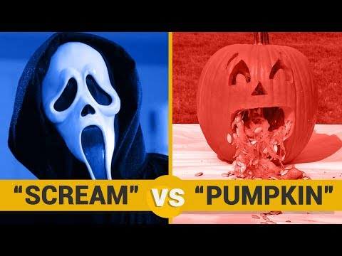 SCREAM VS PUMPKIN - Google Trends Show