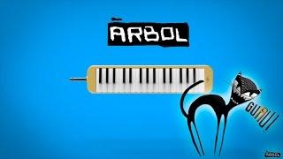 Como tocar: El fantasma - Arbol [ MELODICA ][ TUTORIAL ][ NOTAS ]