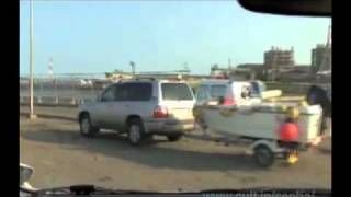 [V0402] 鹿島灘8:神栖1000人画廊から民有地通行止の波崎シーサイド道路へ