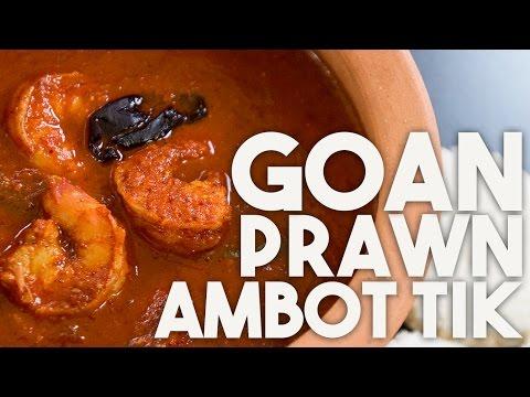 PRAWN Ambot Tik - Goan CURRY With SUCCORINE Bai