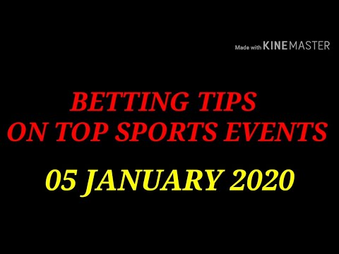 FOOTBALL PREDICTIONS (SOCCER BETTING TIPS) TODAY 05/01/2020