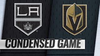 09/28/18 Condensed Game: Kings @ Golden Knights
