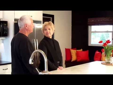 A Kitchen Remodel Before & After: Keith & Mary Anne's Lakeside Home by Home Expo Design Center