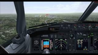 FSX - Happy Germany Server Farewell Flight Flyby EDDF