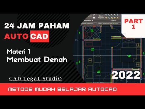 Part 2 https://youtu.be/0S0ZpoJcqhA Belajar Autocad Part 1 dari membuat rumah denah sederhana menggu.