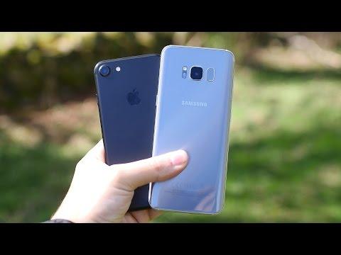 Samsung Galaxy S8 Vs IPhone 7 -  Camera Test (Photo, 4K Video, Selfies)