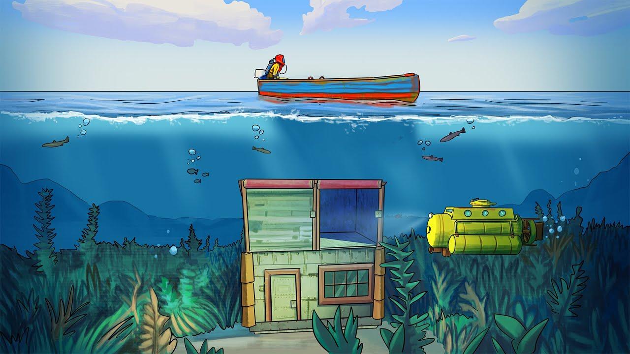 Никто не найдёт мой дом, потому что он под водой Rust/Раст