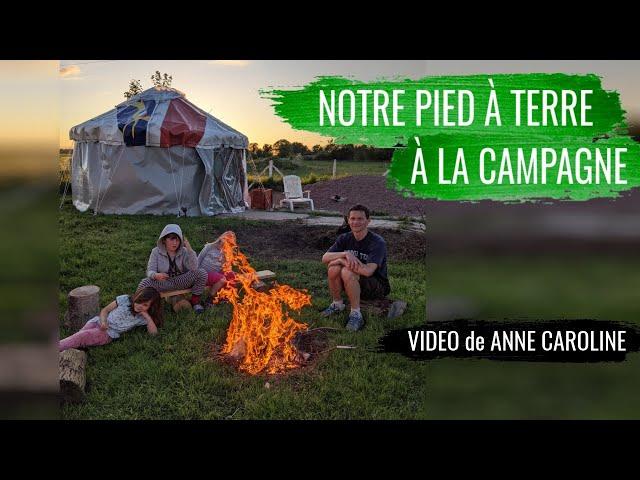 Ils réalisent leur yourte pour 400€ (Vidéo de Anne-Caroline)