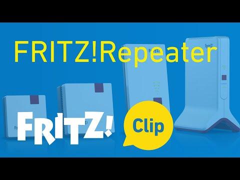 FRITZ! Clip: la generación de repetidores FRITZ!Repeater