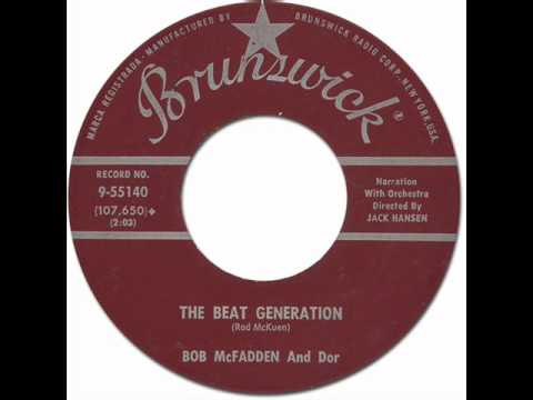 BOB McFADDEN - The Beat Generation [Brunswick 9-55140] 1959