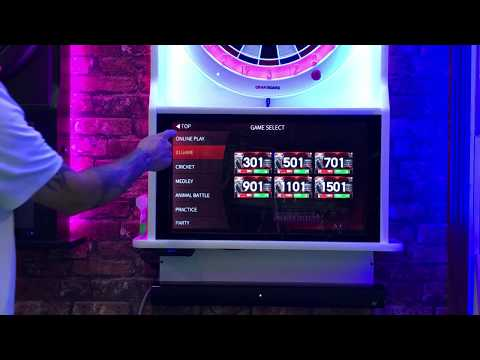 Wizard Darts Custom Cabinets - Touchscreen Tutorial -