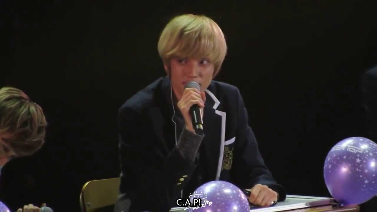 [Eng Sub] 131124 Angel Class - Teen Top message to Angel