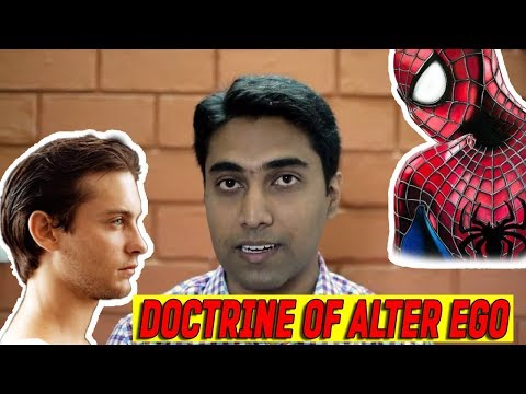 What is the Doctrine of Alter Ego?
