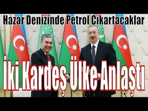 Türkmenistan Ve Azerbaycan Arasında Tarihi Anlaşma - Великое соглашение Туркменистана и Азербайджана