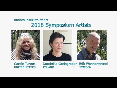 MyStudio's Ginny Barrent Interviews Sculptors at Andres Institute of Art 2016 (dc)