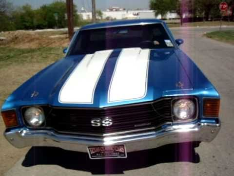 Chevelle El Camino Super Sport 454 Ss Fun Youtube